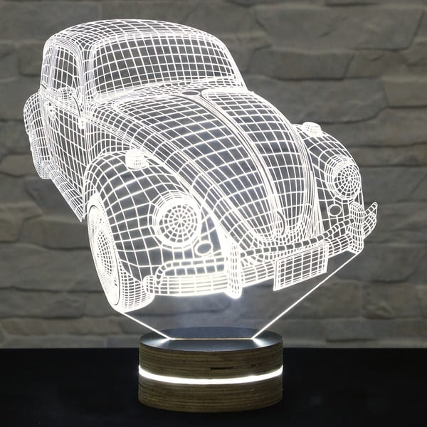 Lampa 3D stołowa Old Car