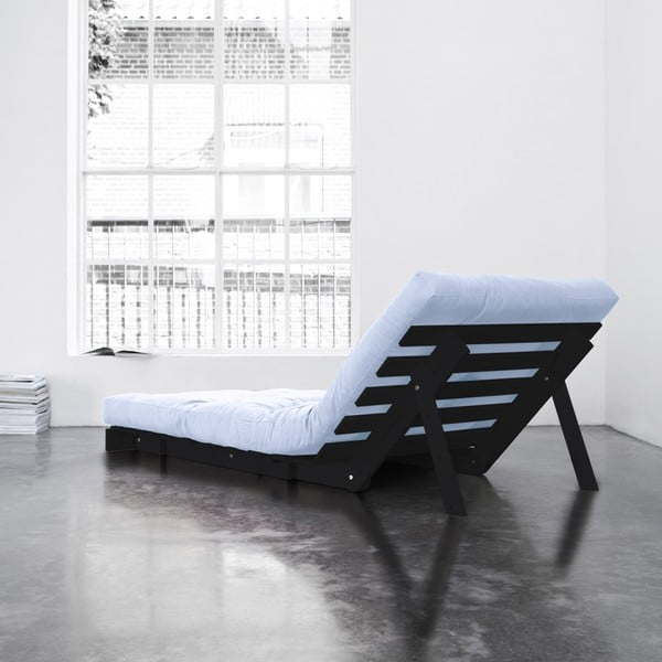 Fotel rozkładany Karup Roots Wenge/Celeste
