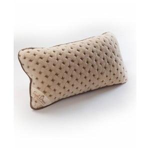 Wełniana poduszka Camel Dots, 50x60 cm