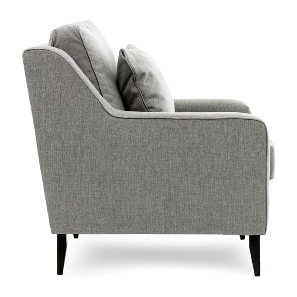 Szara sofa dwuosobowa Vivonita Bond