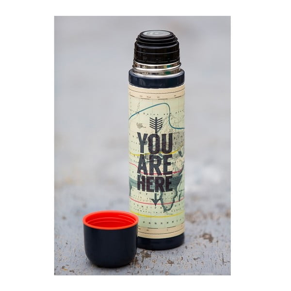 Butelka You Are Here, 500 ml
