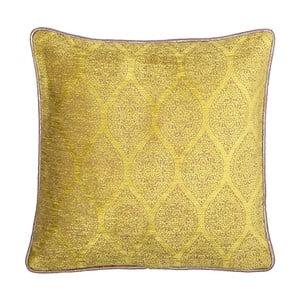 Żółto-brązowa dwustronna poduszka Kate Louise Carmina, 45x45 cm