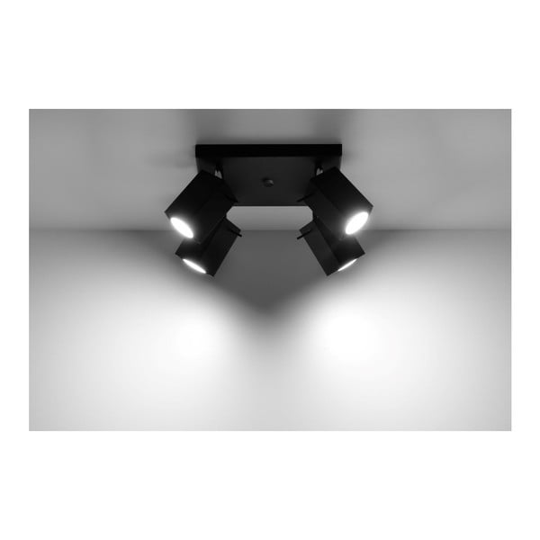 Czarna lampa sufitowa Nice Lamps Toscana 4