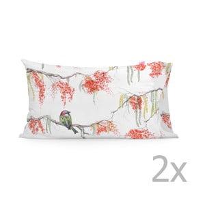 Zestaw 2 poszewek na poduszki Happy Friday Picnic Printed, 50x80 cm
