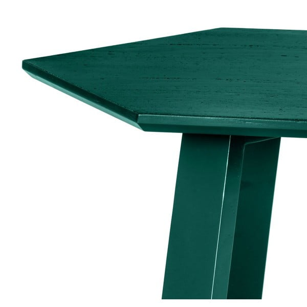 Stolik Hexagon Green, 105x37x61 cm