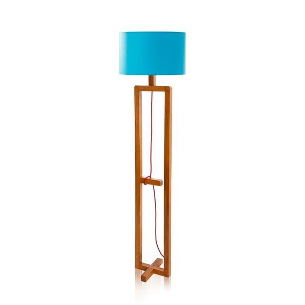 Lampa stojąca Dal Blue Walnut