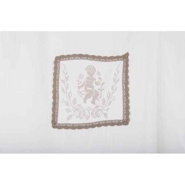 Zasłony Amorin 90x240 cm, białe