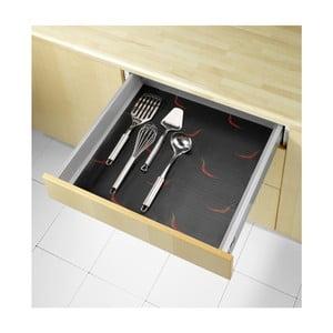 Antypoślizgowa podkładka do szuflady Wenko Pepper, 150x50 cm