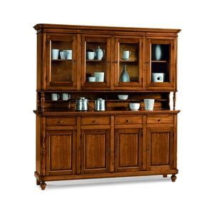 Drewniany kredens 8-drzwiowy z 4 szufladami Castagnetti Classico