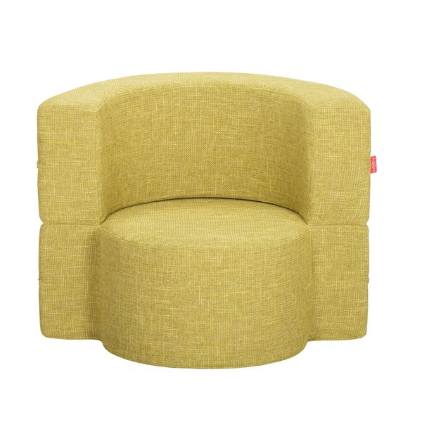 Fotel rozkładany Macaron, zielona herbata