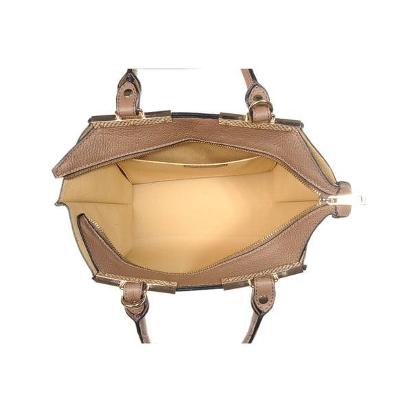 Skórzana torebka Fashion Bag Taupe