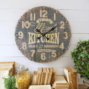 Zegar ścienny Orchidea Mom Kitchen
