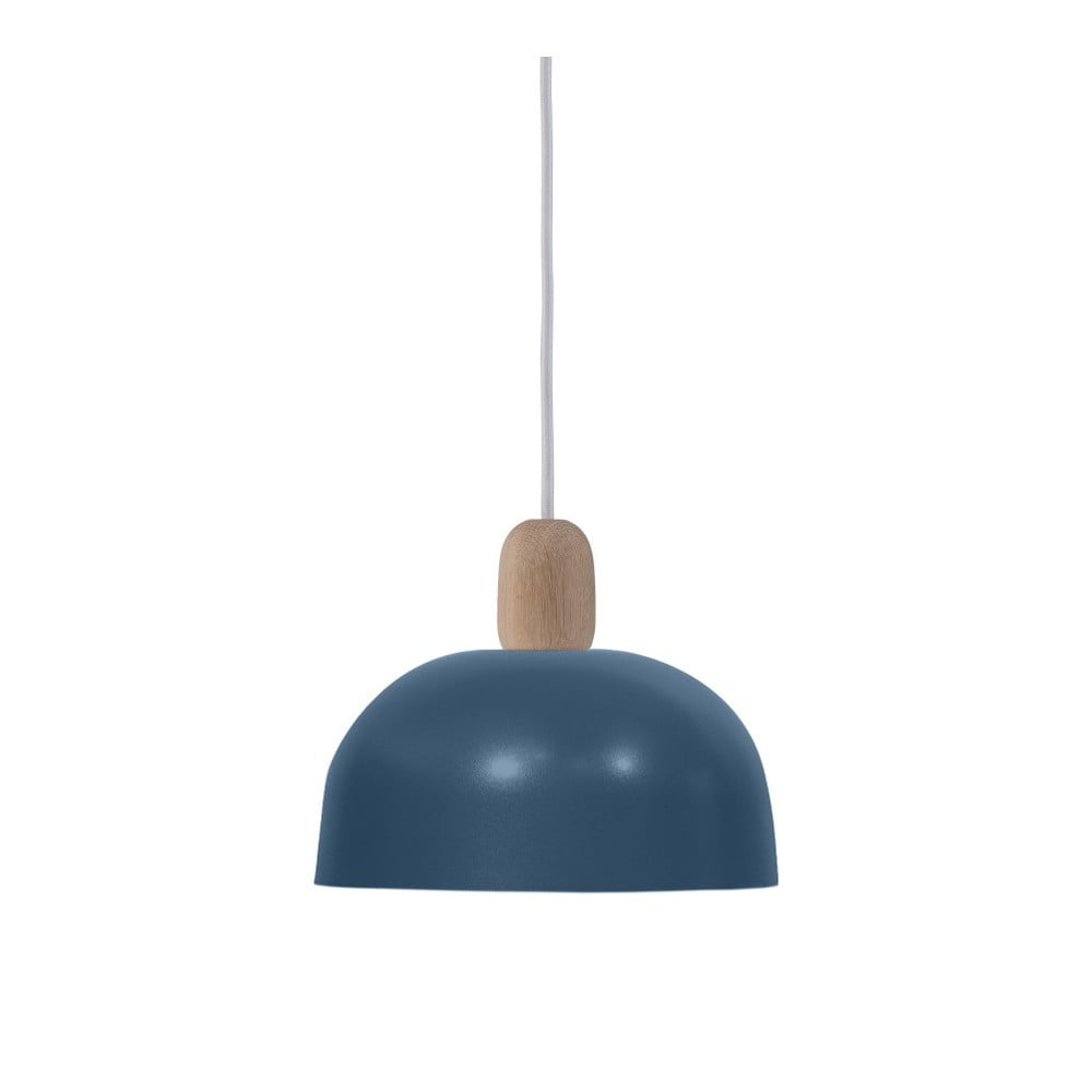 Niebieska lampa wisząca HARTÔ Nina