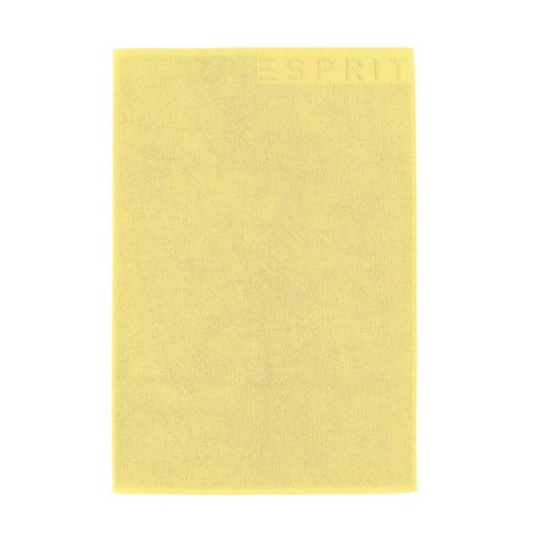 Dywanik łazienkowy Esprit Solid 60x90 cm, żółty