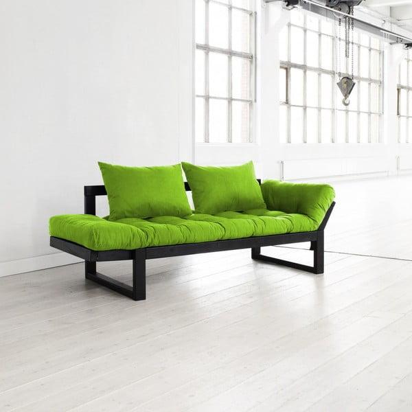Sofa Karup Edge Black/Lime