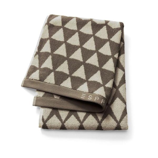 Ręcznik Esprit Mina 70x190 cm, brązowy