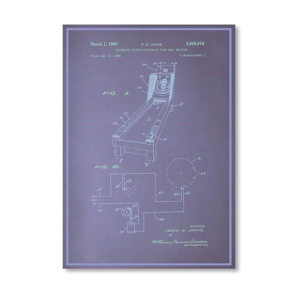 Plakat Skee Ball, 30x42 cm