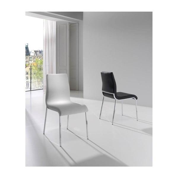 Czarne krzesło Ángel Cerdá Lupe