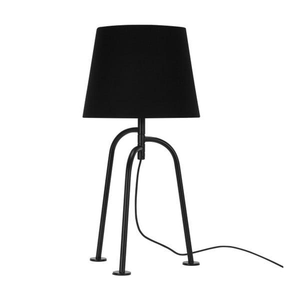 Czarna lampa stołowa Garageeight Jay