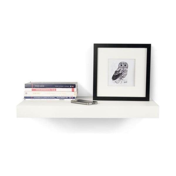 Biała półka TemaHome Balda, 59 cm