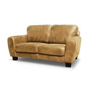 Sofa dwuosobowa Jethro, karmelowy brąz