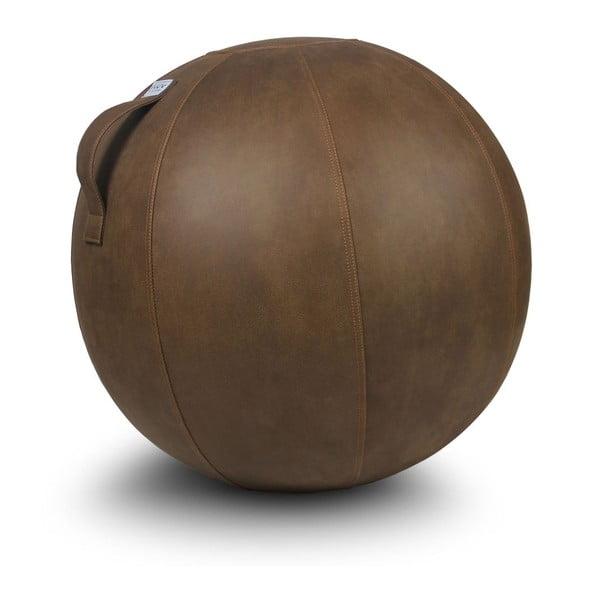 Brązowa piłka do siedzenia VLUV, 65 cm