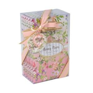 Zestaw 5 torebek zapachowych Charming, piwonia