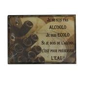 Tabliczka z blachy Antic Line Alcoolo