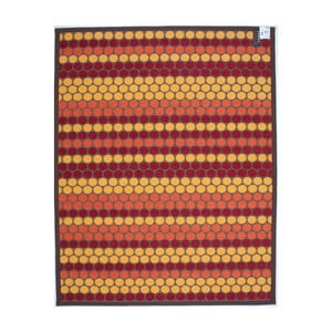 Dywan NW Brown/Red/Yellow, 80x150 cm