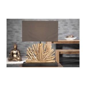 Brązowa lampa stołowa SOB Tess