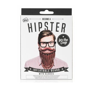 Dmuchane zarost i okulary NPW Hipster For The Day