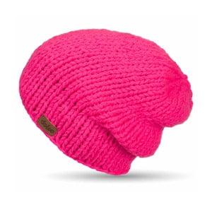 Czapka pleciona DOKE Pink Beanie