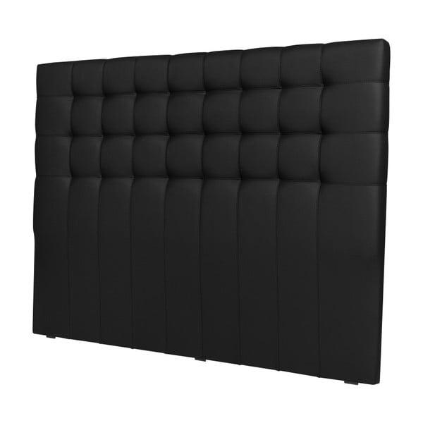 Czarny zagłówek łóżka Windsor & Co Sofas Deimos, 180x120 cm