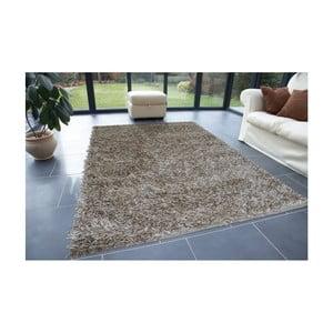 Beżowy dywan Webtappeti Shaggy, 60x100cm