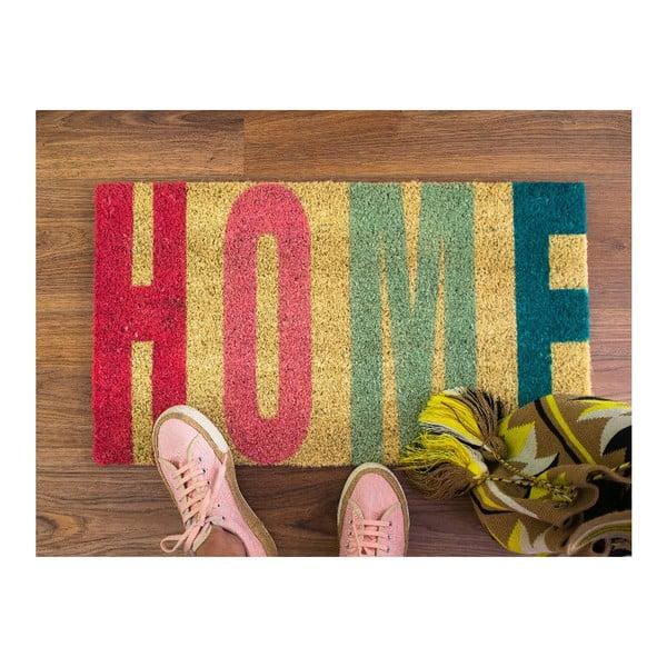 Wycieraczka włókien kokosowych Home Rojo, 40x70 cm