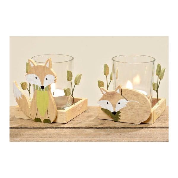 Zestaw 3 świeczników Foxy Falk