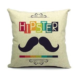Poszewka na poduszkę Hipster, 45x45 cm