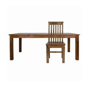 Stół dla 6 osób z palisandru Massive Home Irma