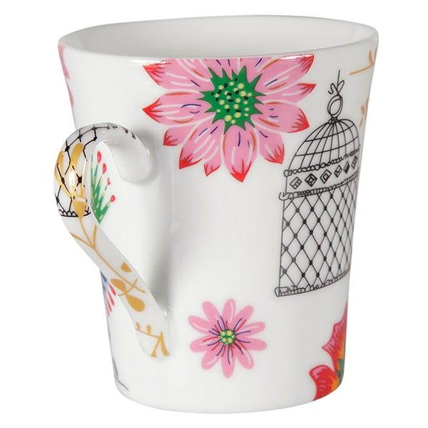 Zestaw 4 porcelanowych kubków Envol