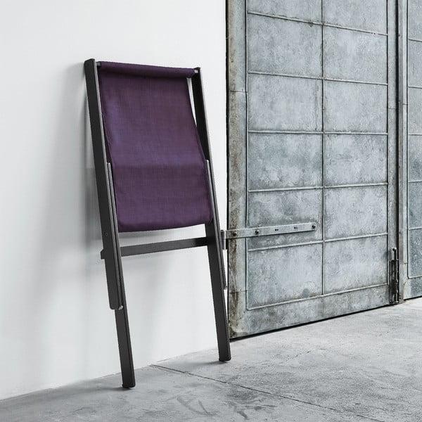 Fotel składany Karup Boogie Black/Purple
