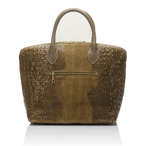 Beżowa torebka zamszowa Giorgio Costa Candance