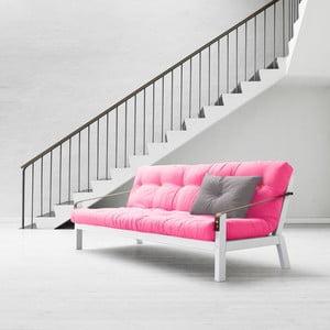 Sofa rozkładana Karup Poetry White/Magenta/Amarillo
