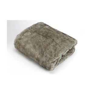 Koc Grey Fur, 170x130 cm