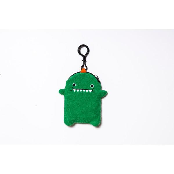 Pluszowe etui na telefon, odtwarzacz mp3, klucze Green Dino