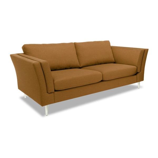 Brązowa sofa 2-osobowa Vivonita Connor
