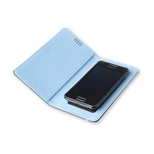 Niebieskie etui na telefon Moleskine Book, bardzo duże