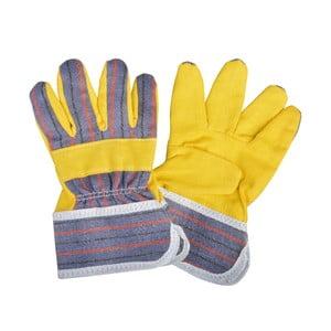 Żółte rękawice dziecięce do ogrodu Esschert Design