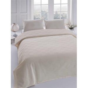 Narzuta na łóżko Orgu Cream, 160x235 cm