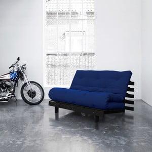 Sofa rozkładana Karup Roots Wenge/Royal