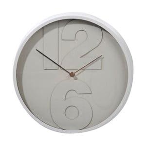 Zegar Numbers Grey, 32 cm